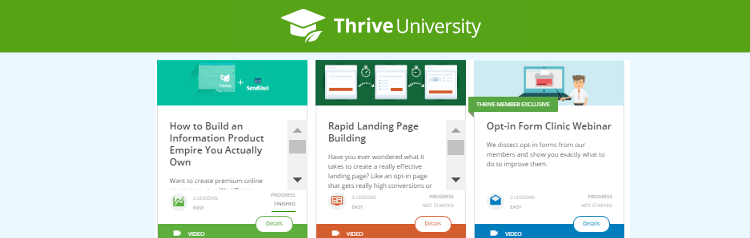 thrive themes university