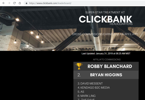Robby Blanchard #1 Clickbank Affiliate