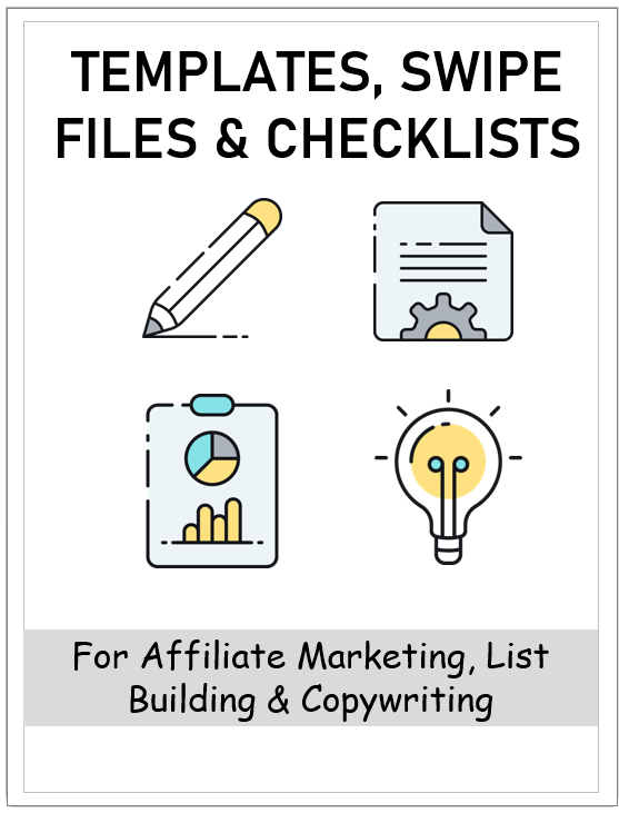 elite affiliate pro bonus - templates swipe files checklist