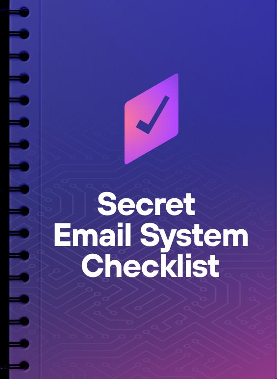Matt Bacak Secret Email System review